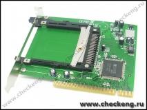 PCMCIA to PCI Interface Card Drive